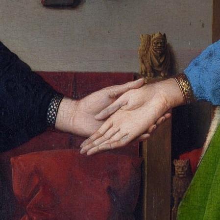 El matrimonio Arnolfini- Jan Van Eyck