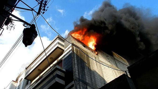 Destrucción por la guerra civil en Homs, lugar donde está Majd. Vía: Wikipedia